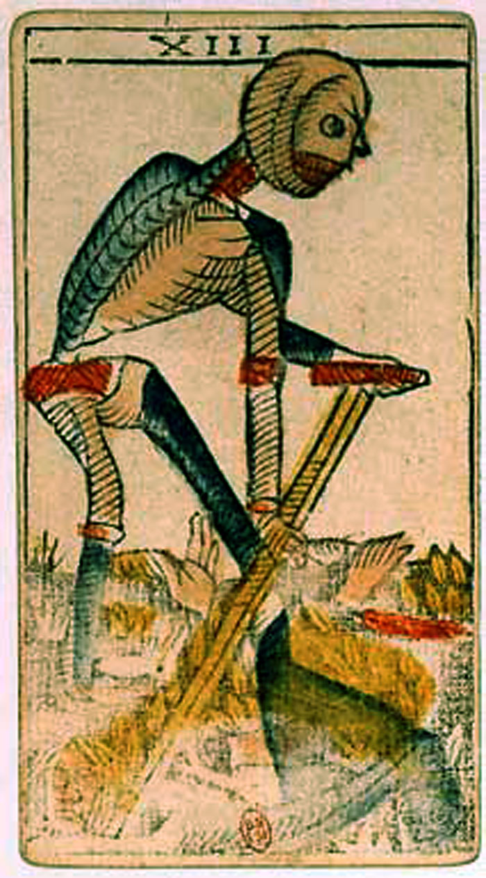 Most-Famous 20th-Century Tarot Deck Features Death's